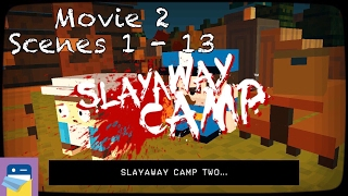 Slayaway Camp: Second Movie, Scenes 1 - 13 Walkthrough & Solutions (by Blue Wizard Digital)