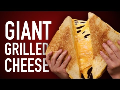 You Have to See How This Gigantic Grilled Cheese Is Made