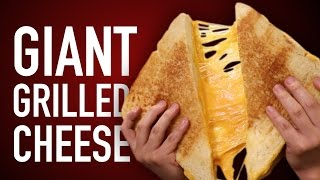 vermillionvocalists.com - DIY GIANT GRILLED CHEESE