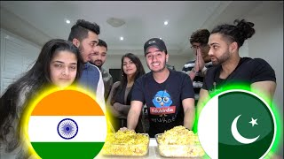 Pakistan VS India BIRYANI CHALLENGE! (whose is better?)