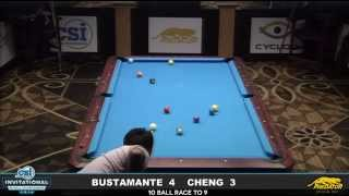 2014 CSI 10 Ball Invitational: Bustamante vs Cheng (3)