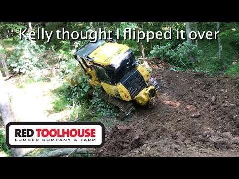 Ep120:Getting the dozer in some scary spots as we finish up our excavating