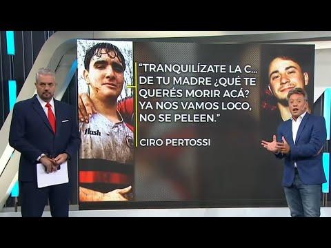 ¿Se pelearon Thomsen y Ciro Pertossi?