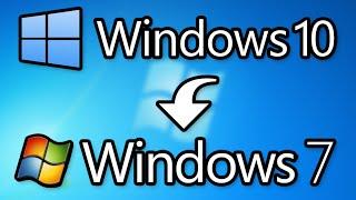 КАК ВЕРНУТЬСЯ С Windows 10 НА Windows 7 ИЛИ 8 ЗА 5 МИНУТ