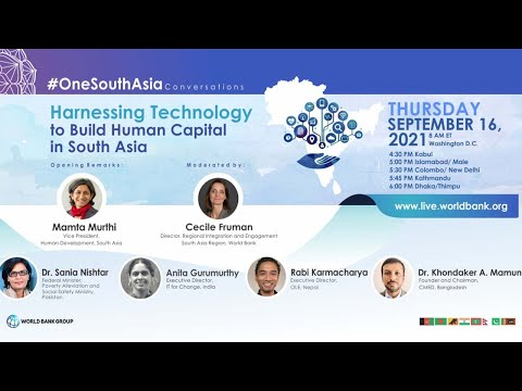 Harnessing Technology to Build Human Capital in South Asia