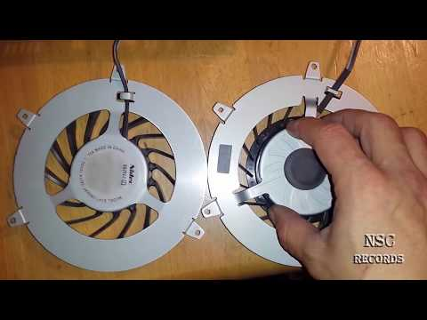PS3 FAT Fan & Cooling Differences By:NSC