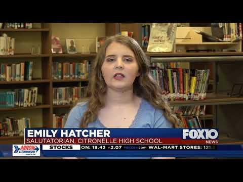 Top of the Class: Emily Hatcher, Salutatorian, Citronelle High School
