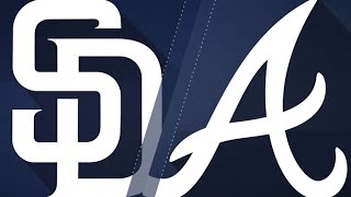 Padres score 5 in 7th to push past Braves: 6/15/18