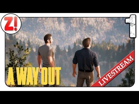 A Way Out: Mandy und Fabi im Gefängnis! 🔴   #01   Let's Play [DEUTSCH]