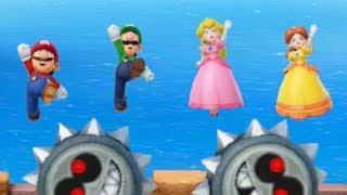Super Mario Party - All Team Minigames (Team Mario VS Team Peach)