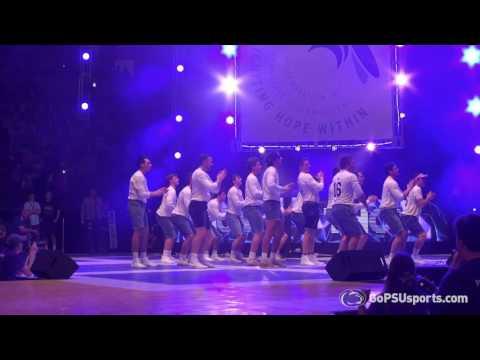 MLAX: THON 2017 Pep Rally Dance