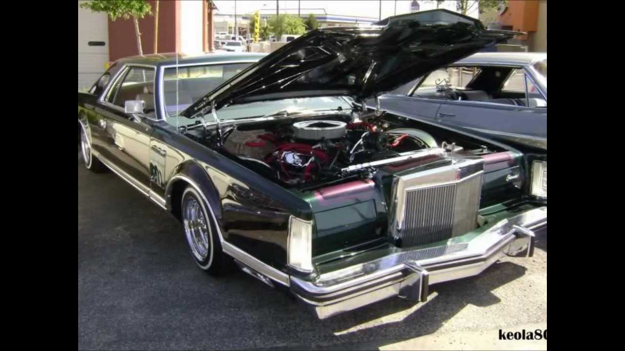 Lowrider Lincoln Continentals From The 70 S 80 S Youtube