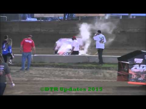 UMP Modified Heat Races | Belle-Clair Speedway | 4.17.15