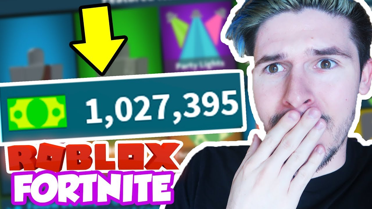 OWNER GAVE ME ONE MILLION BUCKS IN ROBLOX FORTNITE *NEW ...