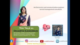 You talk with Dhairya Ghangwani | You Talk Media | Public Speaker | Mentor | Content Writer