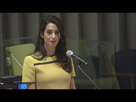 Amal Clooney: Do not let Iraq be another Rwanda