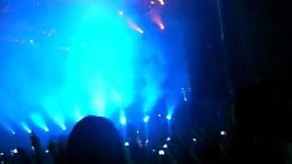 David Guetta@ Schwarzlsee, Graz - Intro mit Gettin Over und cooler Lichtshow
