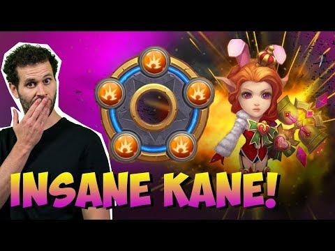 Candy Kane Maxed Breakthrough THE INSANE KANE! Castle Clash
