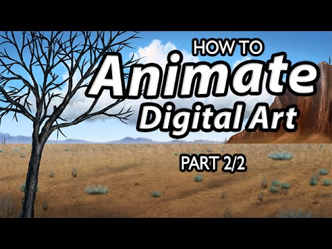 Animated Painting (After Effects Tutorial) [Draw This #50 – Part 2/2]