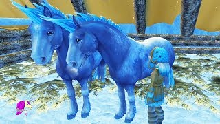 A Day in Winter Snow Christmas Village Star Stable Online Horse Role Play RP Video