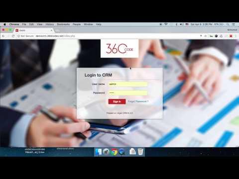 شرح برنامج crm (برنامج ادخال بيانات العملاء ، برنامج مخازن ) الجزء1