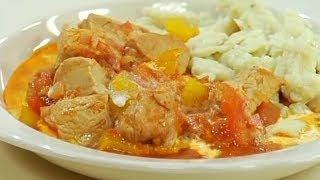 Овощной соус (подлива) для гуляша из говядины / от шеф-повара / Илья Лазерсон / Кулинарный ликбез
