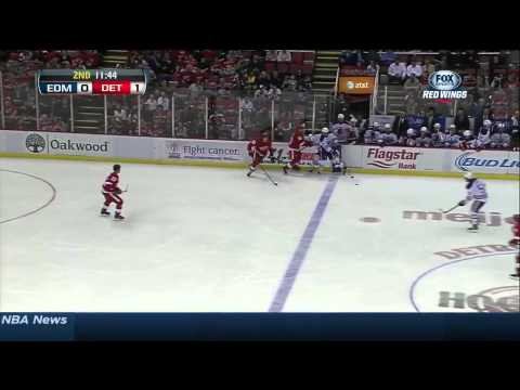 Edmonton Oilers vs  Detroit Red Wings 14.03.2014