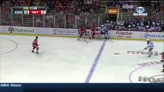 Edmonton Oilers vs  Detroit Red Wings 14.03.2014