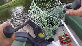 Рыбалка на реке Оскол Новая лодка
