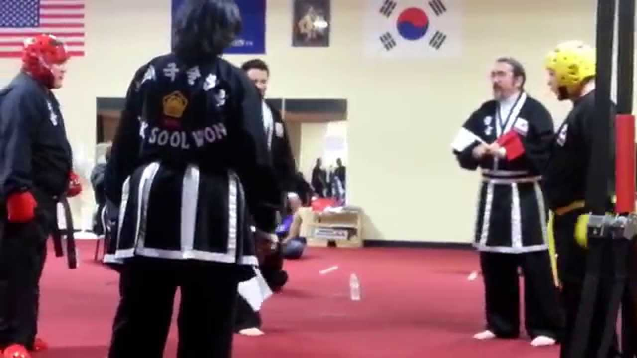 Kuk Sool Won- Sparring Match 2 - YouTube