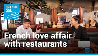 France's love affair with restaurants