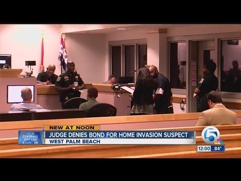 Home invasion suspect denied bond