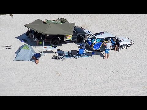 Beach Camping Trip – 1st 4wd trip with the old bomb!
