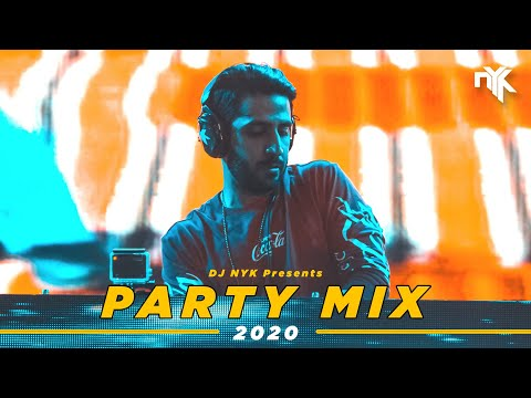 Dj Nyk   New Year 2020 Party Mix | Yearmix | Non Stop Bollywood, Punjabi, English Remix Songs