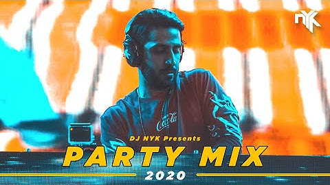DJ NYK - New Year 2020 Party Mix | Yearmix | Non Stop Bollywood, Punjabi, English Remix Songs