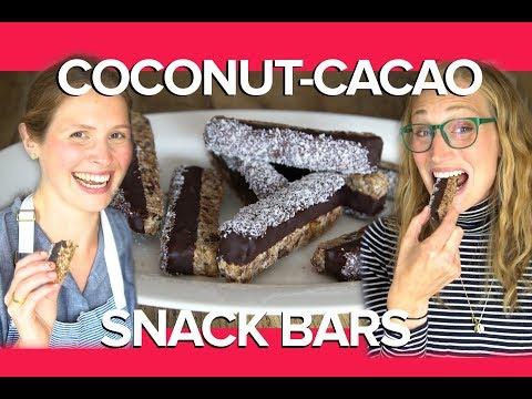 Coconut-Cacao-Quinoa Bars Recipe, feat. Henrietta Inman