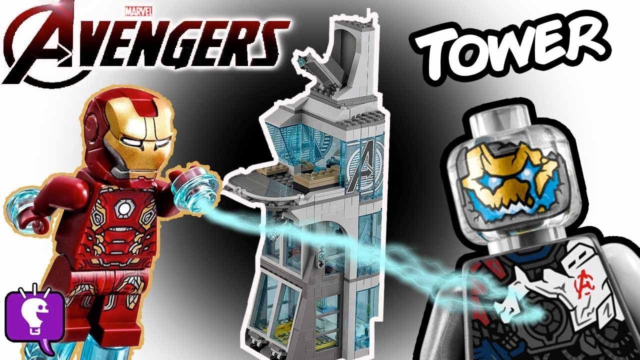 AVENGER Tower Gets ULTRON MK1 Lego Build by HobbyKidsTV