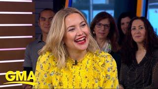 Baixar Kate Hudson talks motherhood and planning for a big birthday on 'GMA'