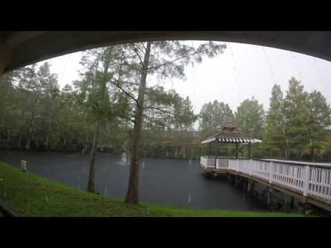 Best Western Premier Saratoga Resort Villas, Kissimme, Florida THUNDERSTORM!!!!