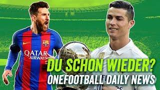 Das Bundesliga-Debakel! Cristiano schlägt wieder zu und Sandro Wagner geht! - Onefootball Daily News