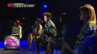 Repeat youtube video 샘김-2NE1, 콜라보 무대 @K팝스타 시즌3 140406