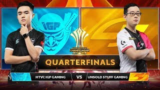 TRỰC TIẾP: HTVC IGP GAMING vs UNSOLD STUFF GAMING - Tứ Kết AIC 2019 - Garena Liên Quân Mobile