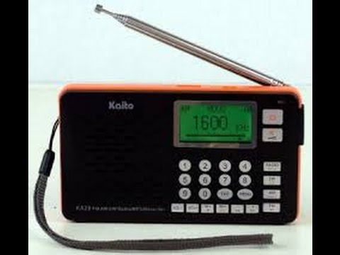TRRS #0746 - Kaito KA29 Multi-function Radio