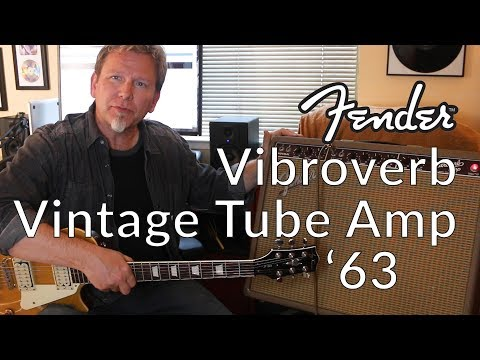 Fender Vibroverb '63 (Reissue) - Demo / Review - Tube Amp Holy Grail? - Guitar Discoveries #25