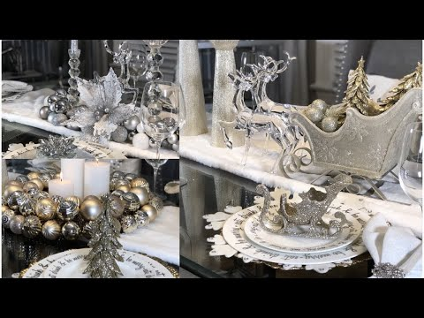 GLAM CHRISTMAS TABLE SETTING DECOR IDEAS + STYLING TIPS 2018