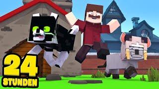24 STUNDEN als HAUSTIERE LEBEN?! - Minecraft [Deutsch/HD]