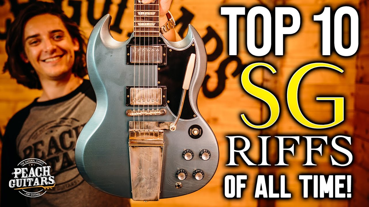 The Top 10 SG Riffs of All Time!