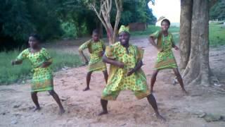 Rehearsal time,Yoruba cultural dance