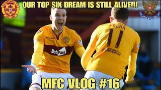 OUR TOP SIX DREAM IS STILL ALIVE!!! - MFC Vlog #16 - Motherwell vs St Johnstone