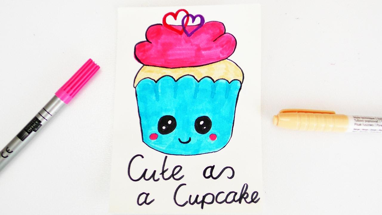 Ungewöhnlich Süße Malvorlagen Von Cupcakes Ideen - Malvorlagen Von ...